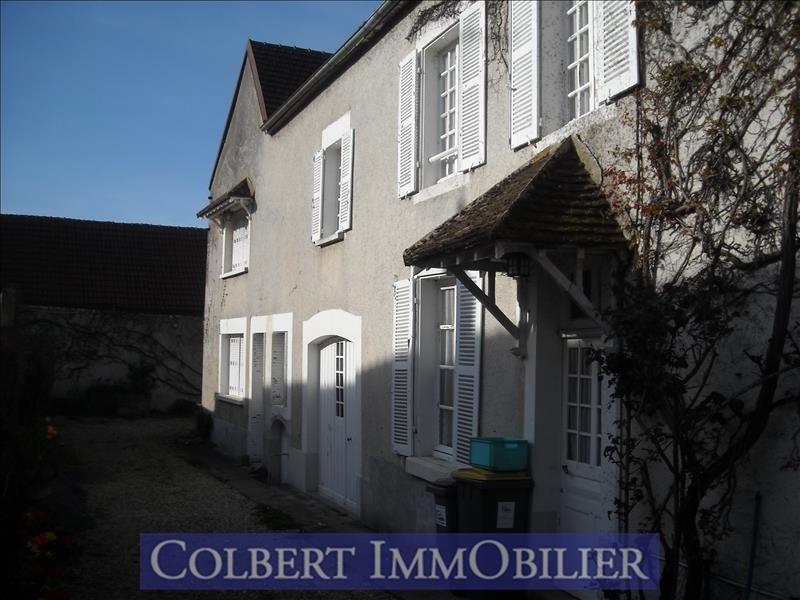 Venta  casa Coulanges la vineuse 205000€ - Fotografía 1