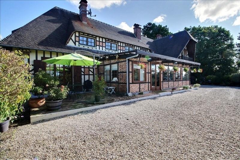 Vente de prestige maison / villa Canapville 588000€ - Photo 2