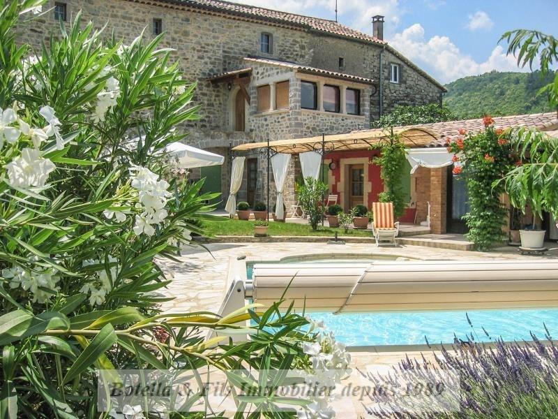 Immobile residenziali di prestigio casa Barjac 446000€ - Fotografia 15