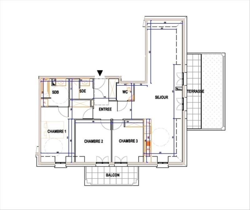 Продажa квартирa L isle adam 550000€ - Фото 1
