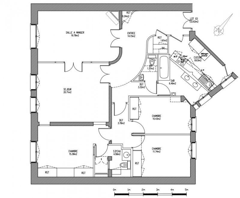 Alquiler  apartamento Paris 17ème 4350€ CC - Fotografía 6