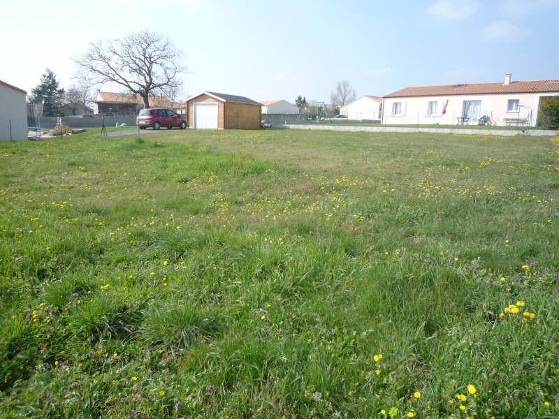Vente terrain Pamproux 23400€ - Photo 1