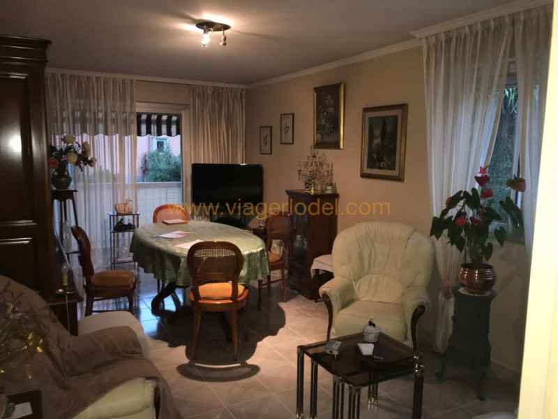 Viager appartement Nice 57500€ - Photo 1