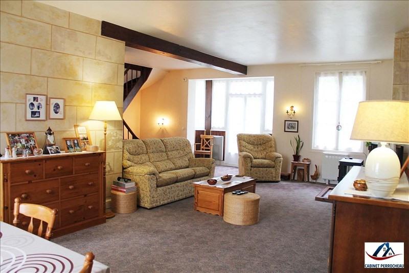 Vente maison / villa La chartre sur le loir 206000€ - Photo 2