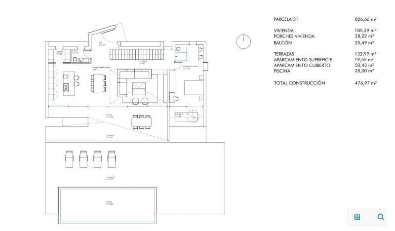 Verkauf von luxusobjekt haus Moraira province d'alicante 950000€ - Fotografie 11