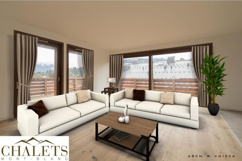 Vente de prestige appartement Combloux 829500€ - Photo 1