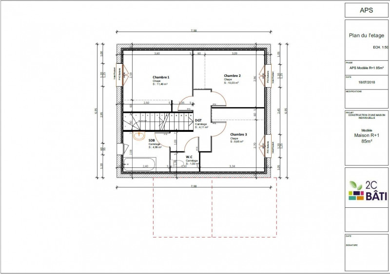 Sale house / villa Voglans 259000€ - Picture 3