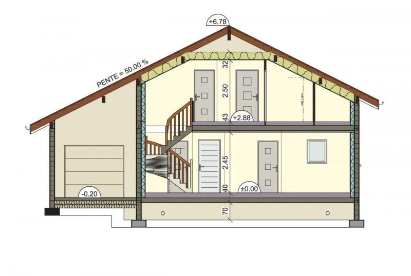 Sale house / villa Choisy 375000€ - Picture 8