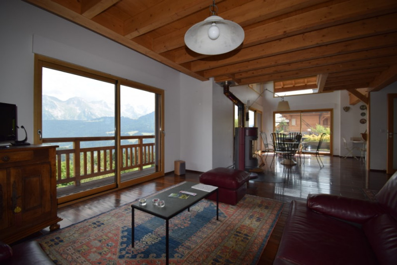 Vente de prestige maison / villa Grand bornand 980 000€ - Photo 6
