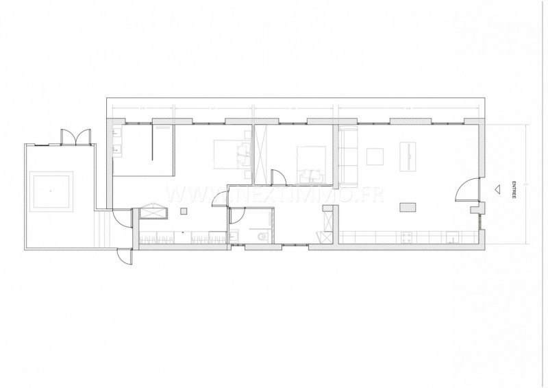 Vente appartement Menton 530000€ - Photo 15