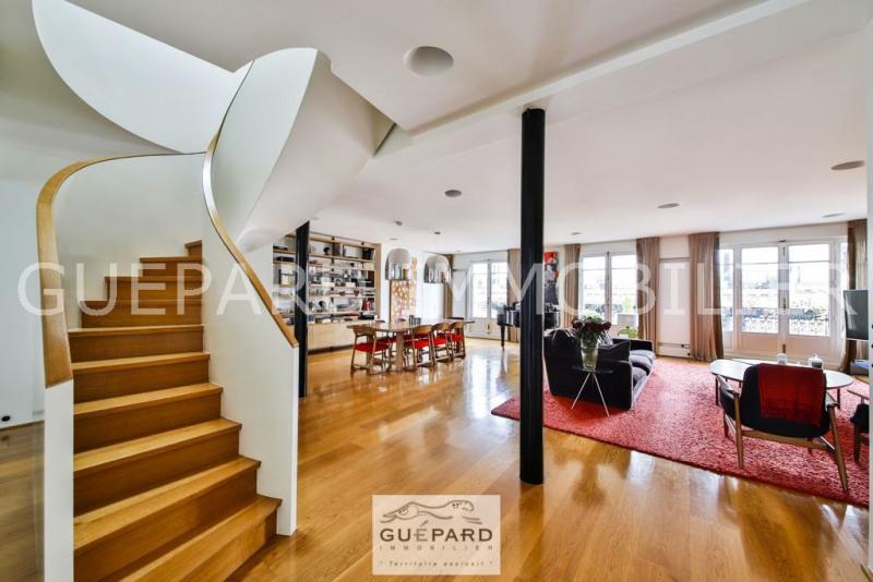 Duplex dernier étage / Vue / Parc Monceau
