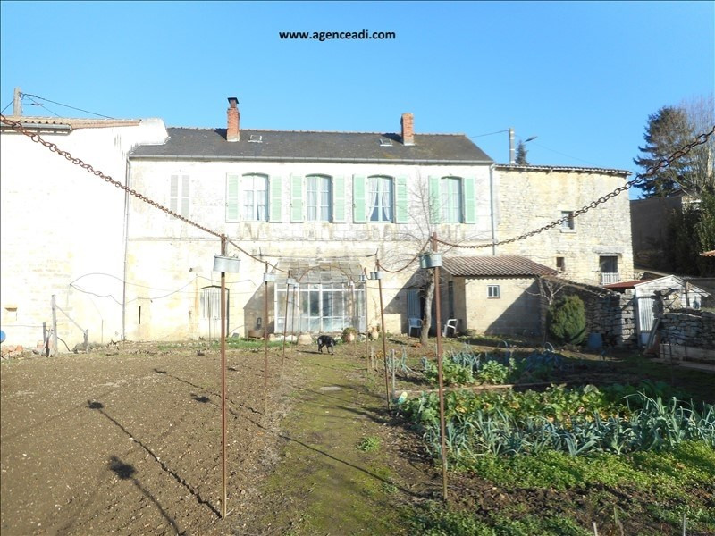 Vente maison / villa Pamproux 75 600€ - Photo 1