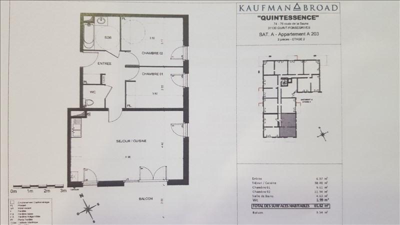 Rental apartment Quint 750€ CC - Picture 2