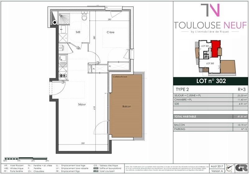 Vente appartement Toulouse 269000€ - Photo 10