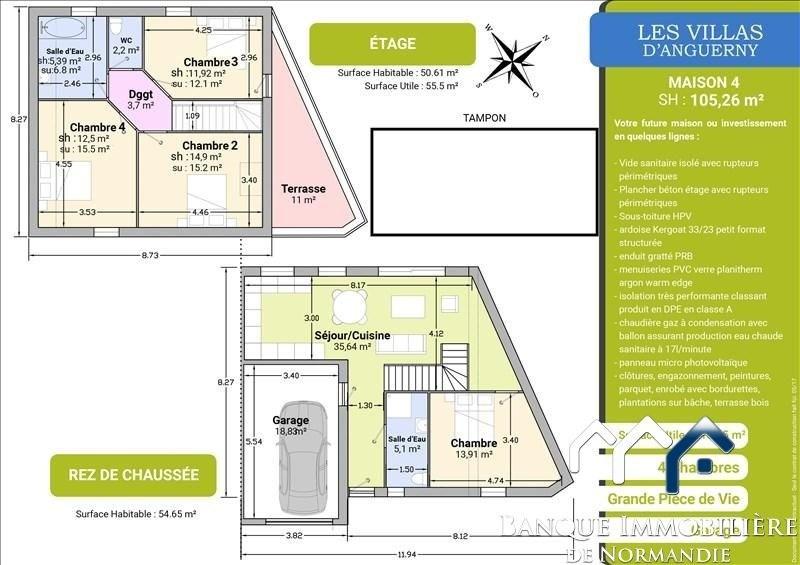 Sale house / villa Anguerny 247700€ - Picture 5
