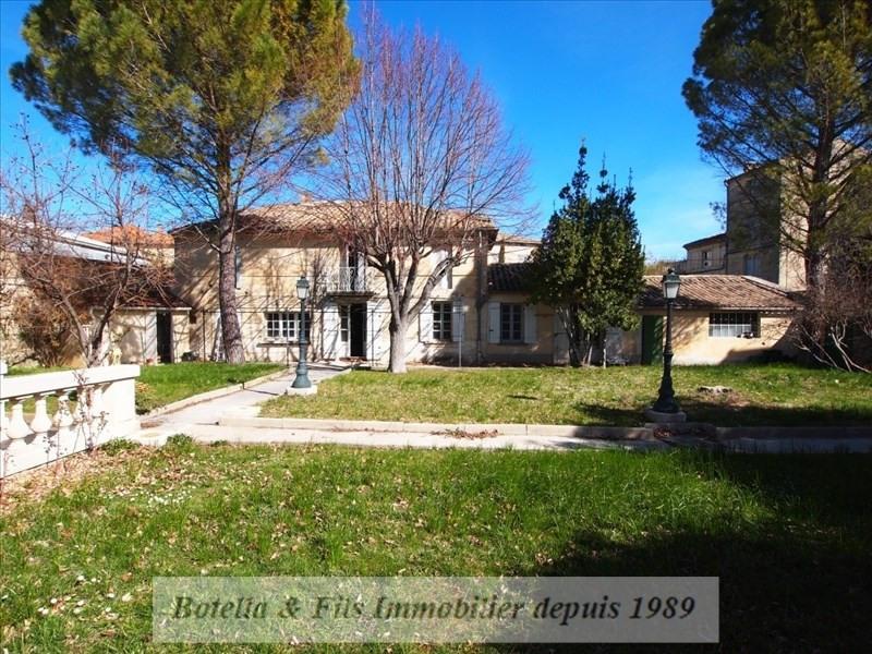 Verkoop van prestige  huis Uzes 1263000€ - Foto 1