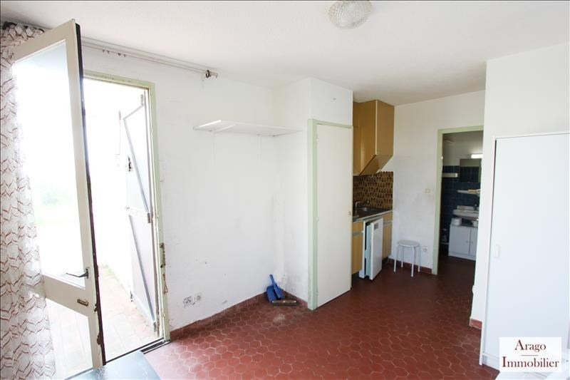 Sale apartment Le barcares 39 500€ - Picture 4