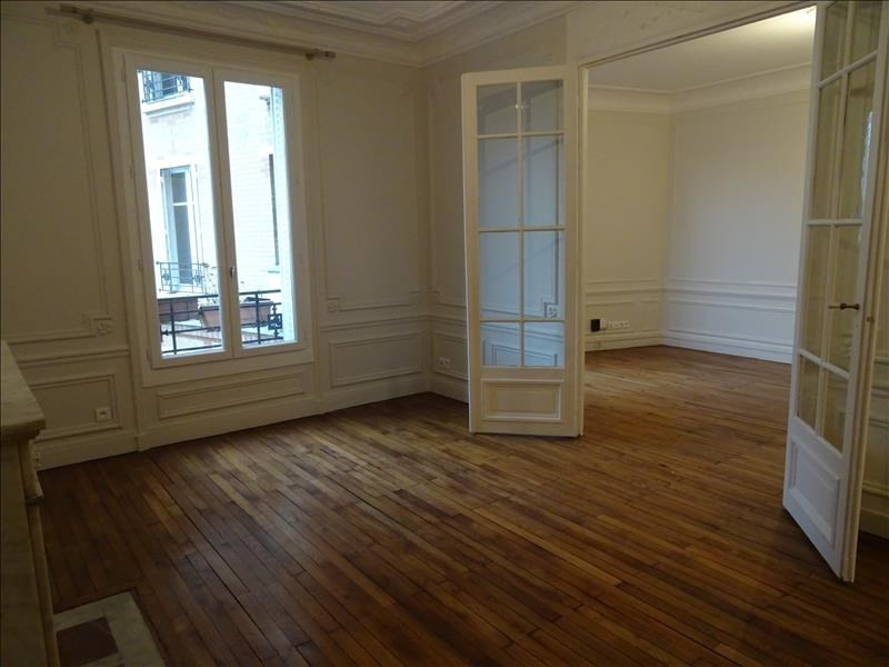 Rental apartment Paris 17ème 2 260€ CC - Picture 1