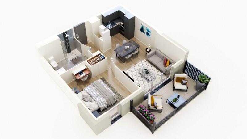 Vente appartement Sautron 215000€ - Photo 4