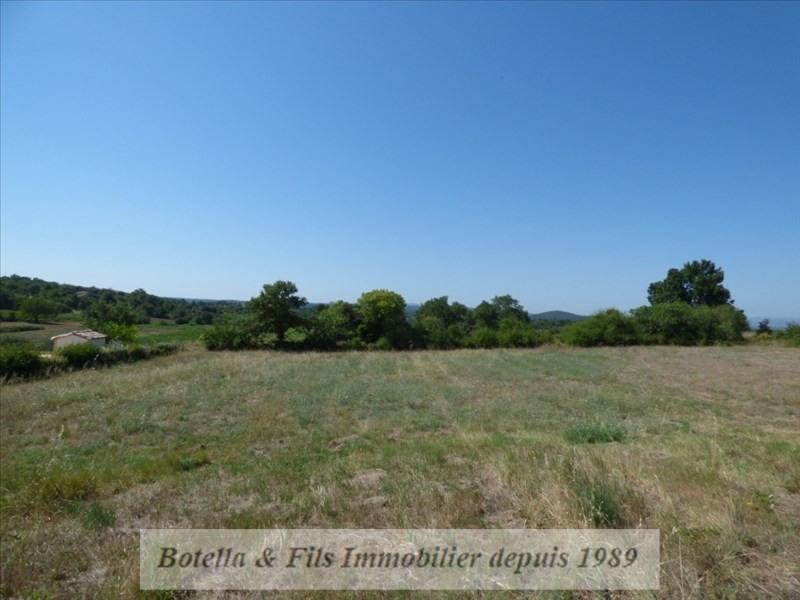 Vendita terreno Barjac 89400€ - Fotografia 1