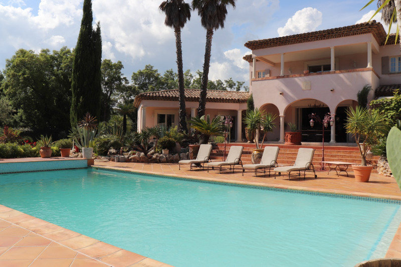 Vacation rental house / villa Grimaud 5 000€ - Picture 1