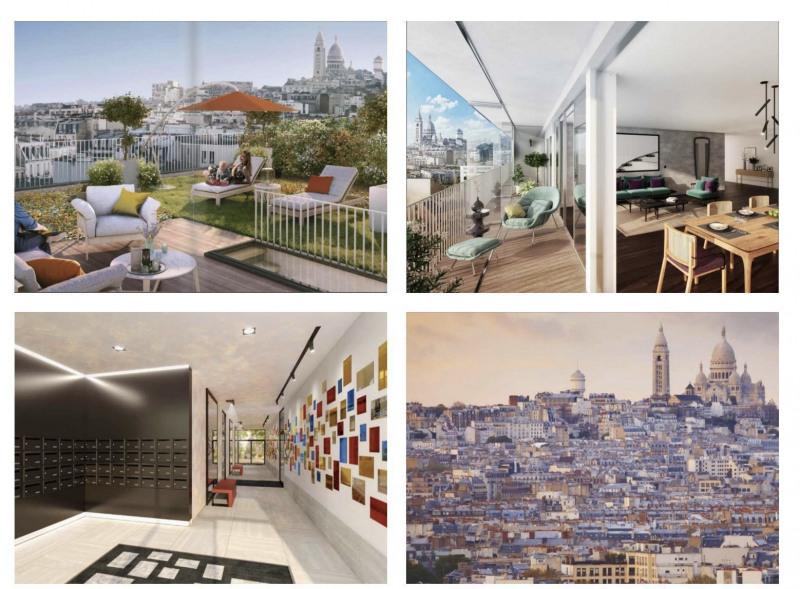 Deluxe sale apartment Paris 18ème 1290000€ - Picture 1