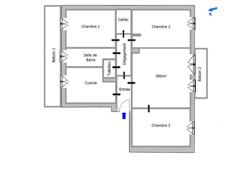 Sale apartment Colomiers 99900€ - Picture 3