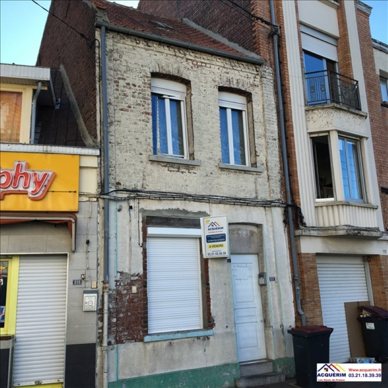 Investment property house / villa Henin beaumont 76000€ - Picture 2