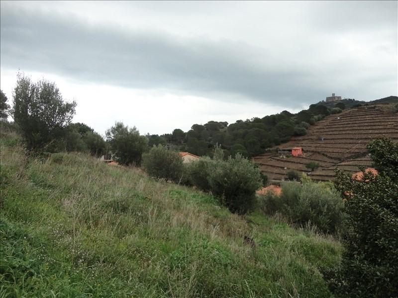 Vente terrain Collioure 255000€ - Photo 1