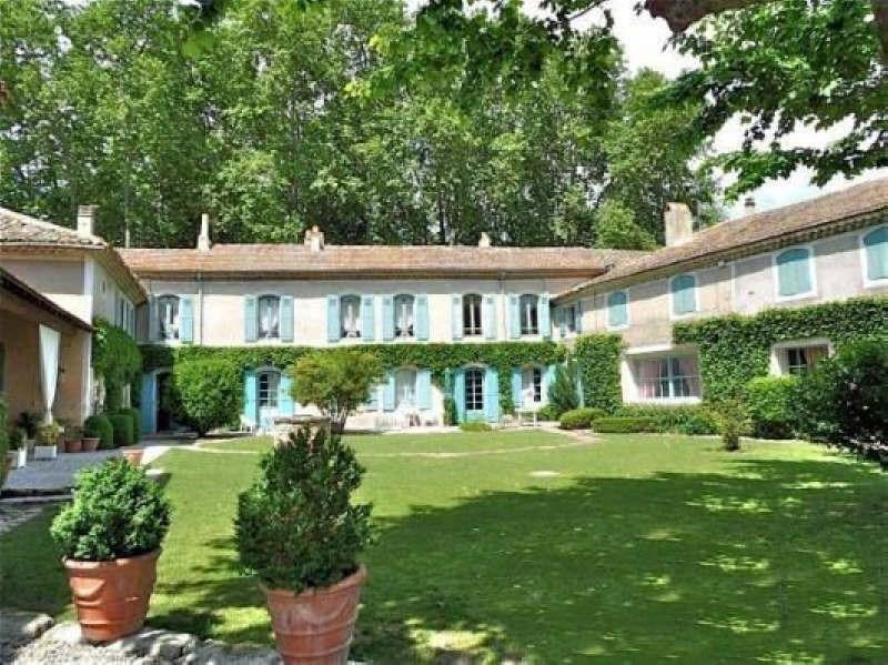 Deluxe sale house / villa Goudargues 995000€ - Picture 1