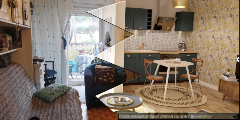 Vente appartement La grande motte 91 900€ - Photo 5