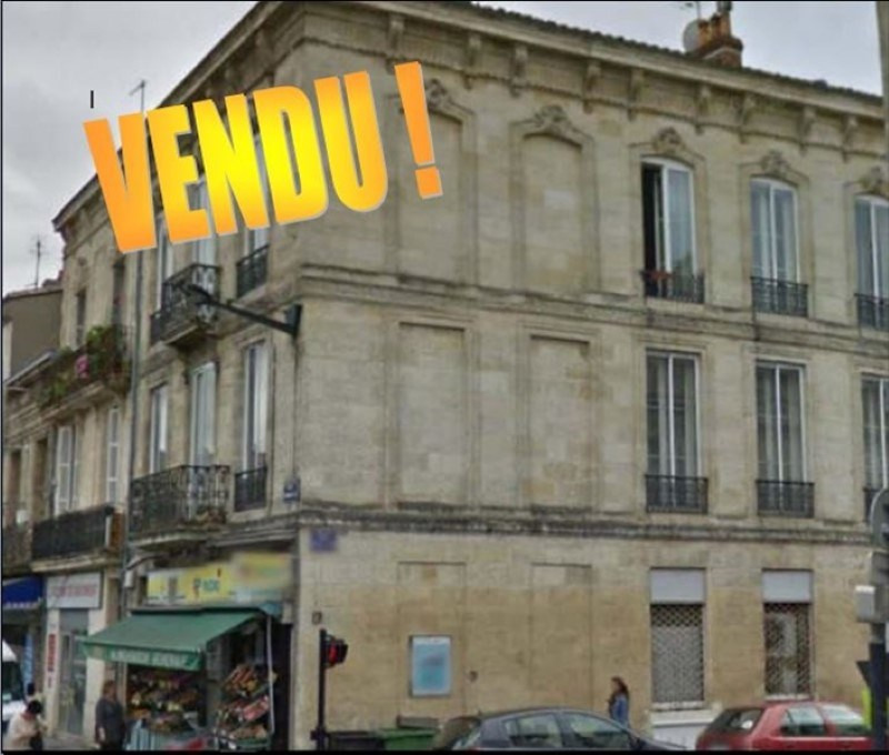Sale building Bordeaux 787 500€ - Picture 1