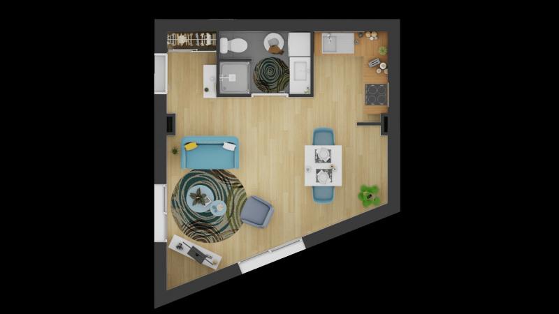 Vendita appartamento Linas 92750€ - Fotografia 2
