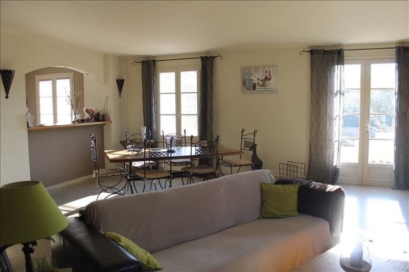 Sale house / villa Sarrians 382500€ - Picture 2