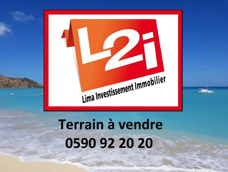 Terrain constructible le gosier - 1357 m²