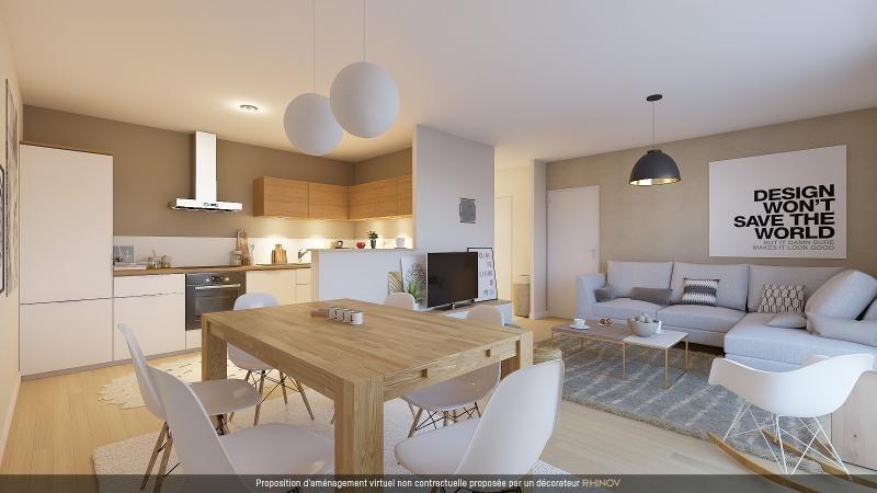 Sale apartment L hermitage 117500€ - Picture 1