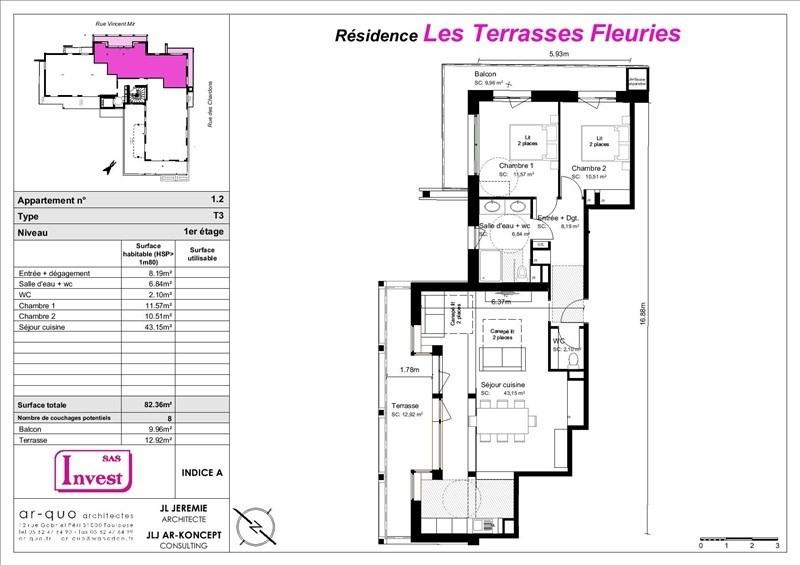 Vente de prestige appartement St lary soulan 247500€ - Photo 5