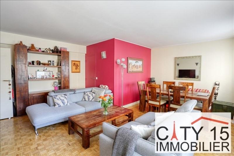 Verkoop  appartement Paris 15ème 689000€ - Foto 1