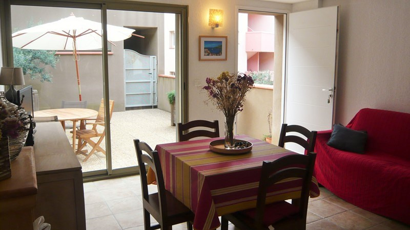 Location vacances appartement Collioure 408€ - Photo 3