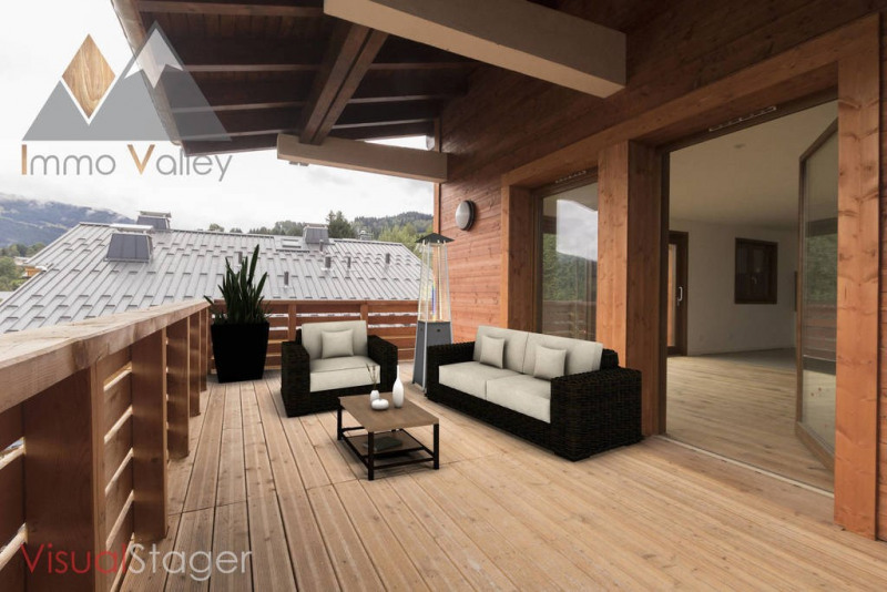 Vente de prestige appartement Combloux 738 300€ - Photo 1