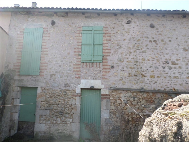 Vente maison / villa Lussac les chateaux 28000€ - Photo 1