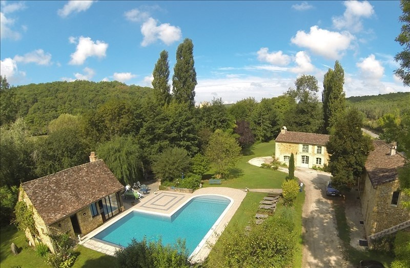 Deluxe sale house / villa Beaumont 787 500€ - Picture 1
