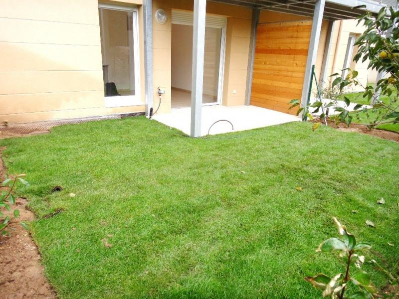 Appartement 1 pièce avec jardin