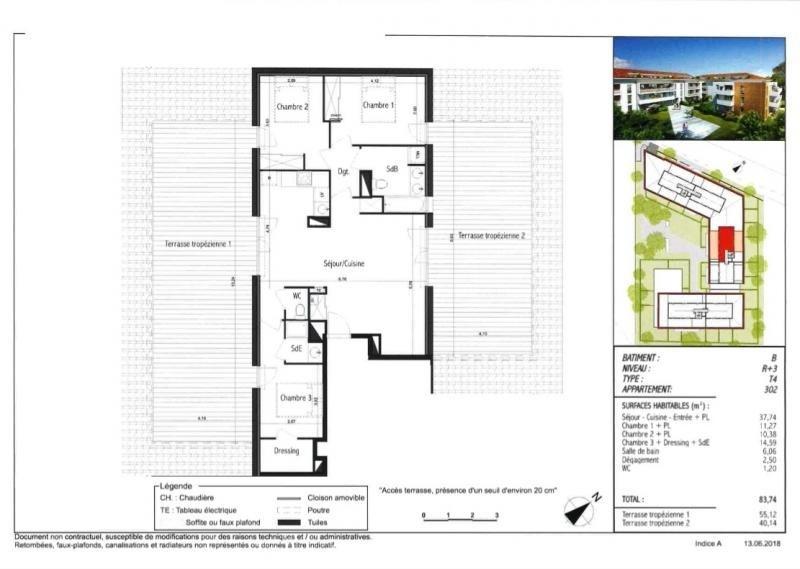Vente appartement Toulouse 339000€ - Photo 3