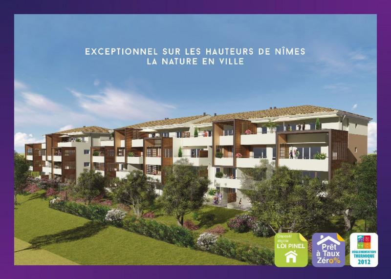 Vente appartement Nimes 300000€ - Photo 1