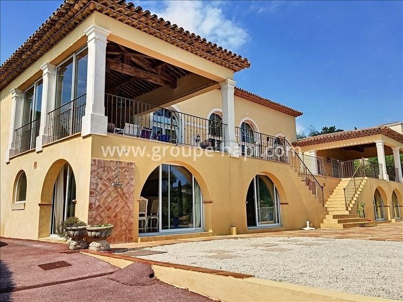 Revenda residencial de prestígio casa Grimaud 4680000€ - Fotografia 1