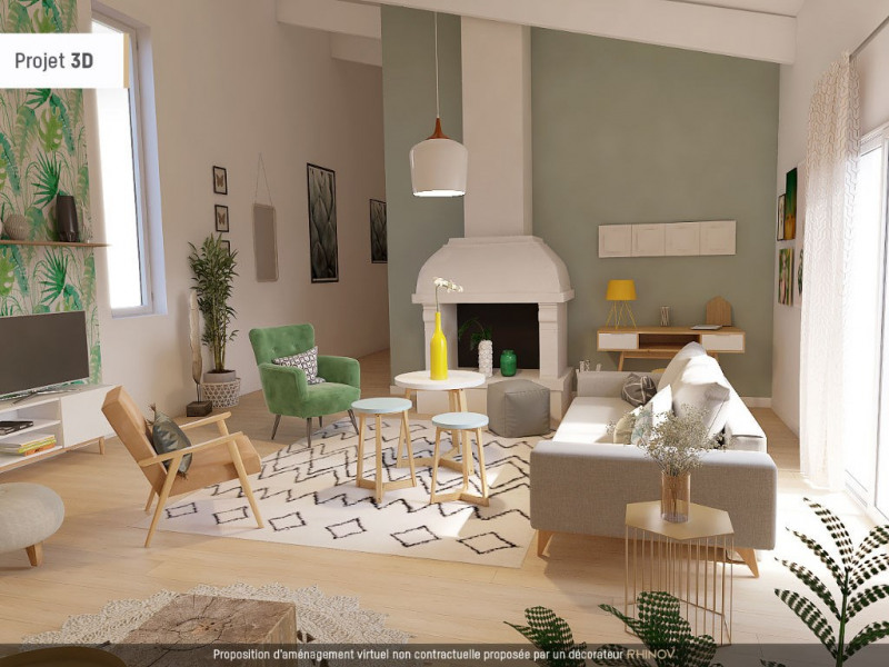 Vente de prestige maison / villa Nimes 595000€ - Photo 1