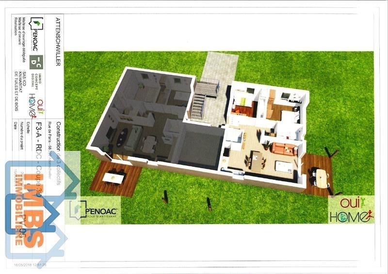 Venta  apartamento Attenschwiller 239560€ - Fotografía 2