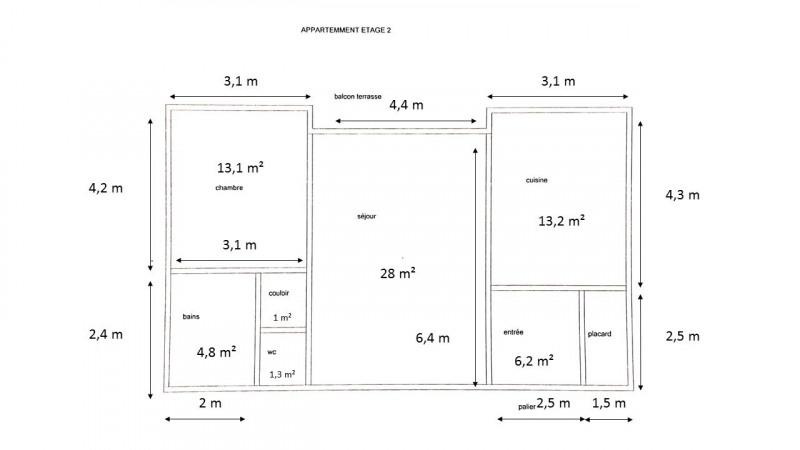 Sale apartment Perigueux 150000€ - Picture 1