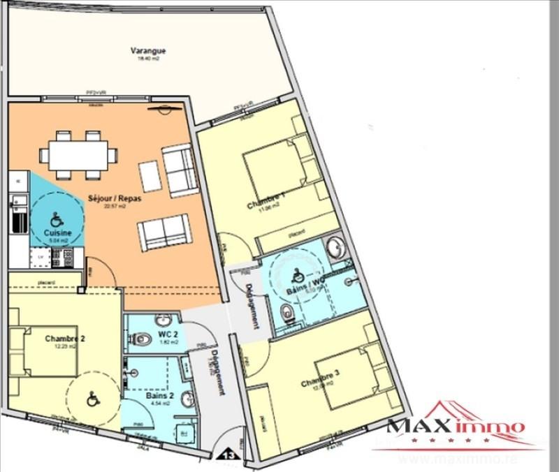Vente appartement St denis 361400€ - Photo 2